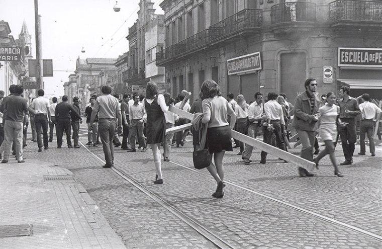 Minifaldas en el Rosariazo