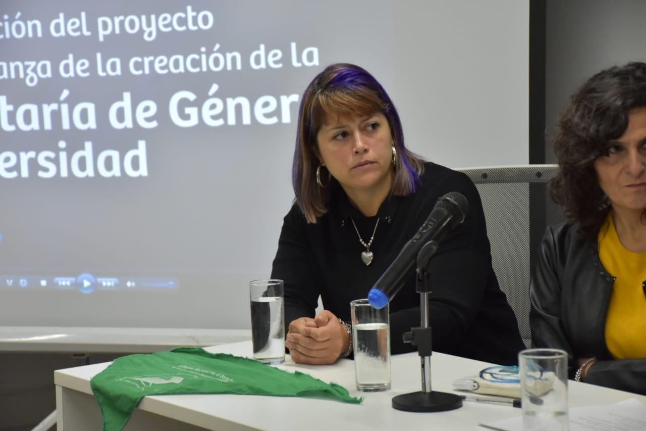 """Magnani: """"Hasta que no se sancione la paridad, las mujeres vamos a ser ciudadanas de segunda"""""""