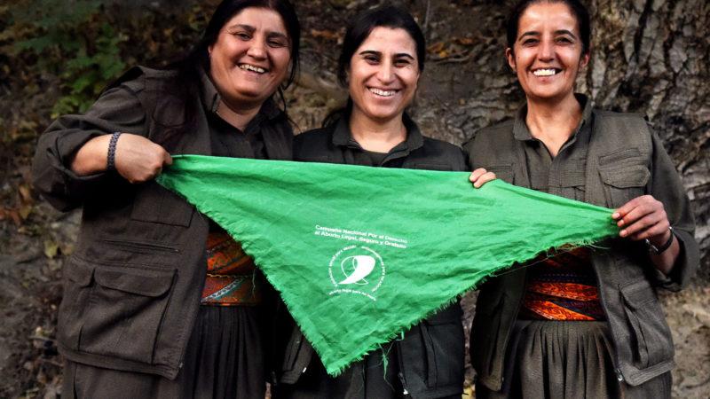 La revolución de las mujeres de Kurdistán