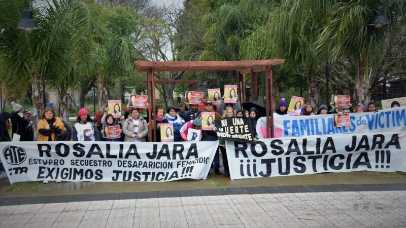 Arranca el juicio por el femicidio de Rosalía Jara
