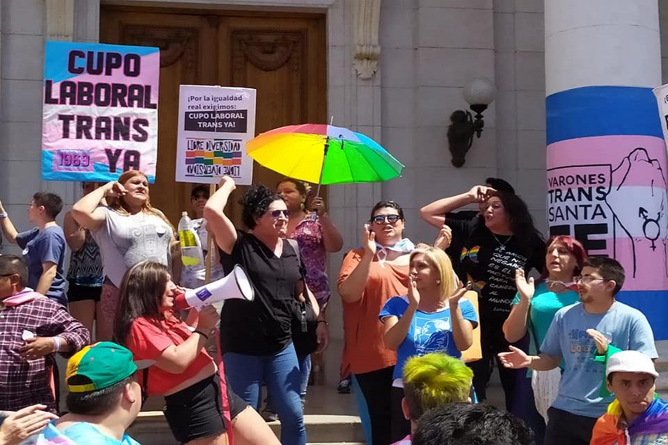 Conversatorio sobre el cupo laboral travesti-trans
