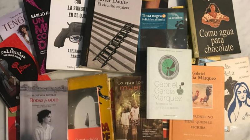 Colecta de libros para atravesar los muros