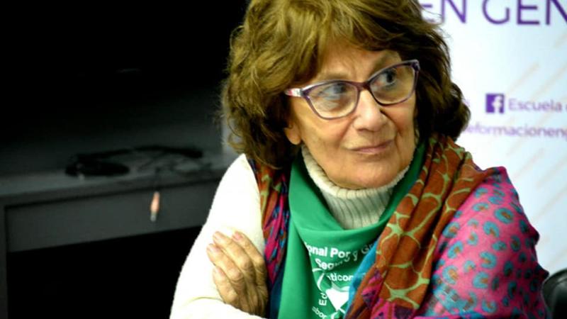 """Gabarra: """"La legalidad del aborto es un tema de DDHH y de justicia social"""""""