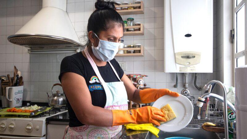 #EsTrabajoNoEsAyuda: Campaña sobre los derechos de las trabajadoras domésticas