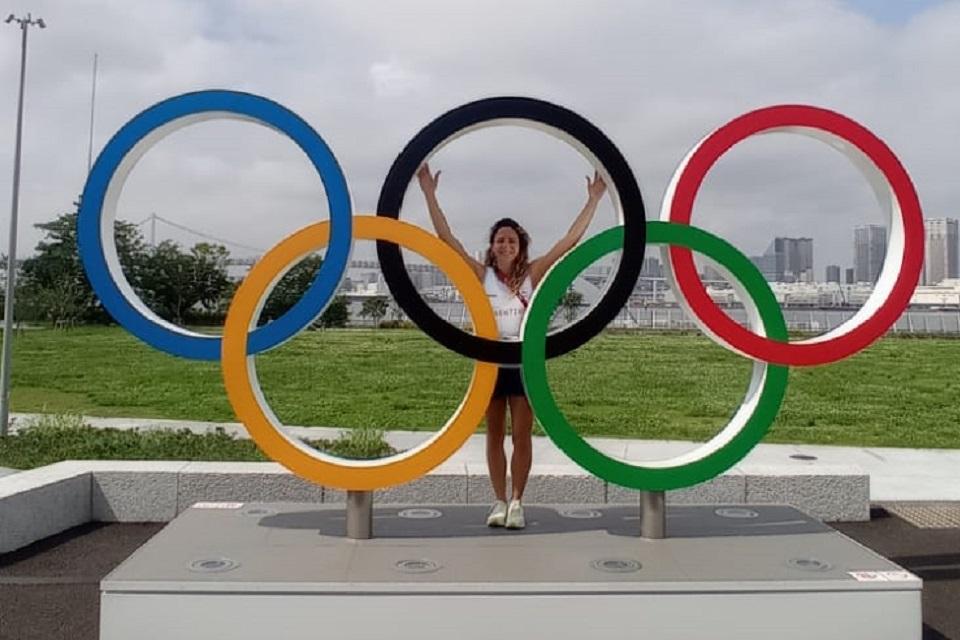 Romina González, la kinesióloga olímpica